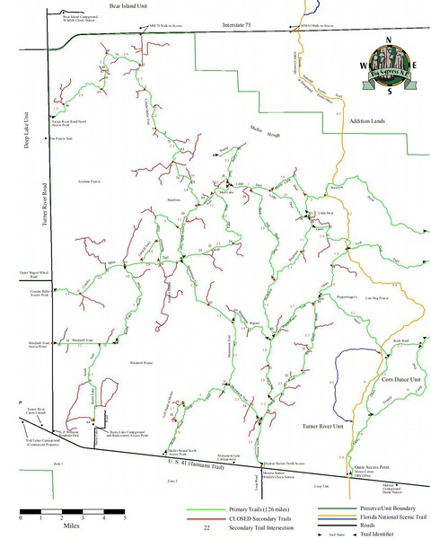 Big Cypress National Preserve (ORV Trails - Turner River Unit)