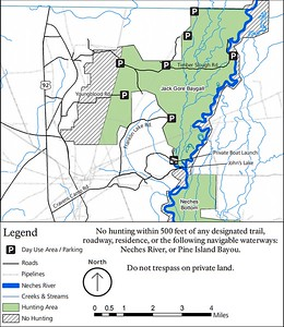 Big Thicket National Preserve (Hunting Areas - Jack Gore Baygall Unit)