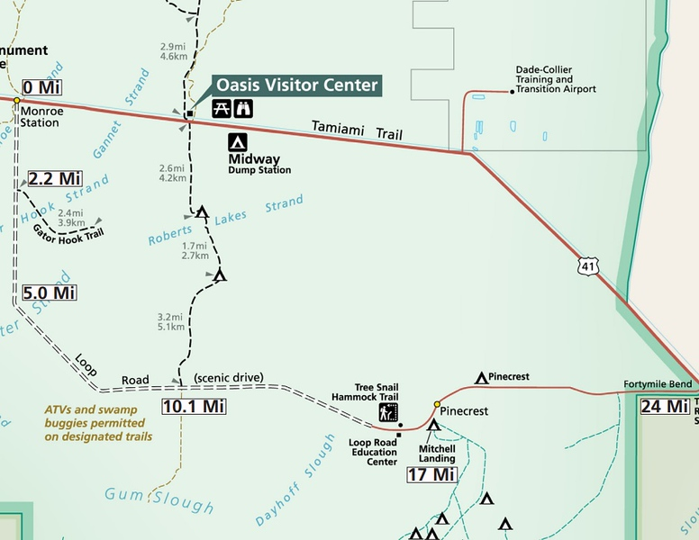 Big Cypress National Preserve (Loop Road Scenic Drive)
