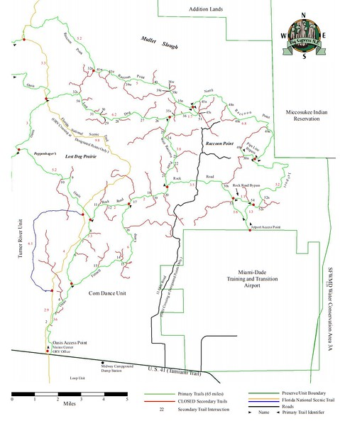 Big Cypress National Preserve (ORV Trails - Corn Dance Unit)