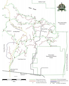 Big Cypress National Preserve (ORV Trails - Corn Dance Unit)