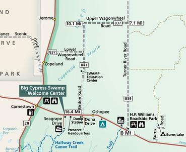 Big Cypress National Preserve (Turner River Road Loop Scenic Drive)