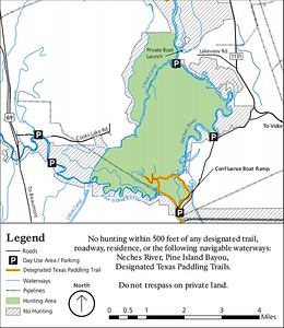 Big Thicket National Preserve (Hunting Areas - Beaumont Unit)
