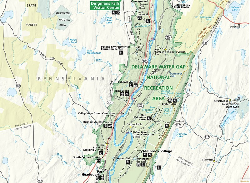 Delaware Water Gap National Recreation Area - Central Area