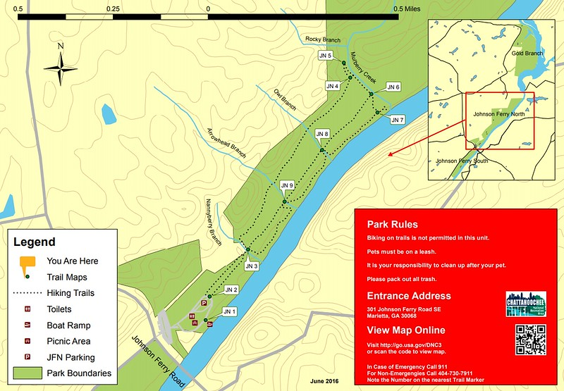 Chattahoochee River National Recreation Area (Johnson Ferry North Area Trails)