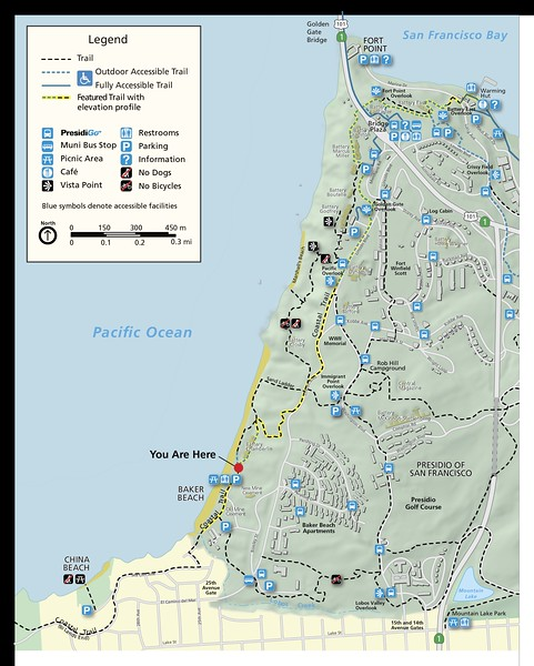 Golden Gate National Recreation Area (Coastal Trail)