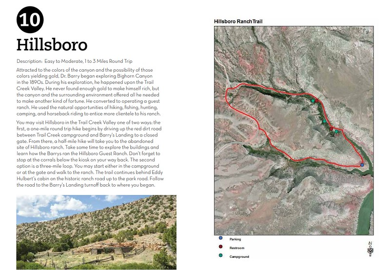 Bighorn Canyon National Recreation Area (Hillsboro Ranch Trail)