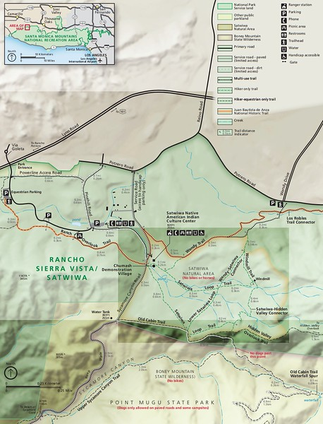 Santa Monica Mountains National Recreation Area (Rancho Sierra Vista/Satwiwa Area)