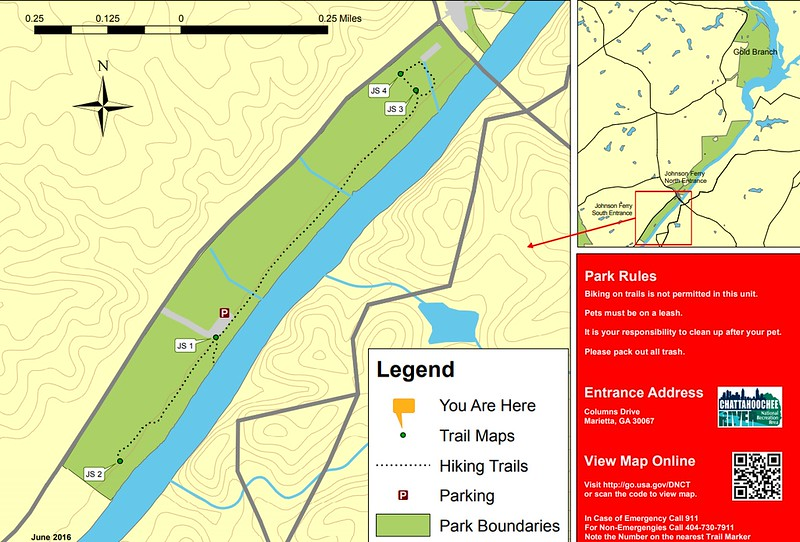Chattahoochee River National Recreation Area (Johnson Ferry South Area Trails)