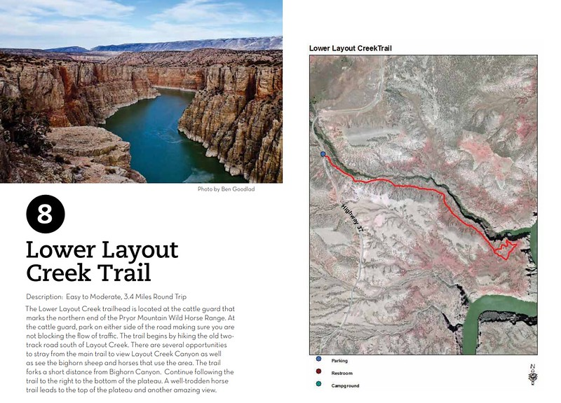 Bighorn Canyon National Recreation Area (Lower Layout Creek Trail)