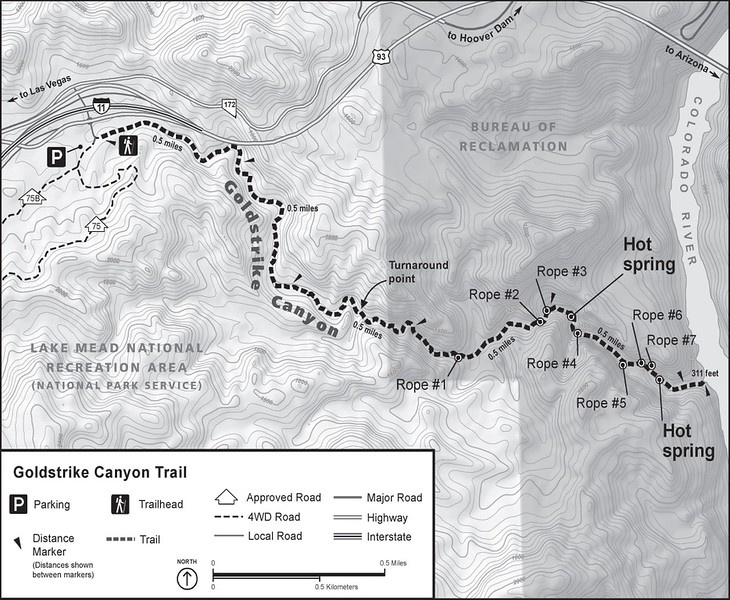 Lake Mead National Recreation Area (Goldstrike Canyon Trail)
