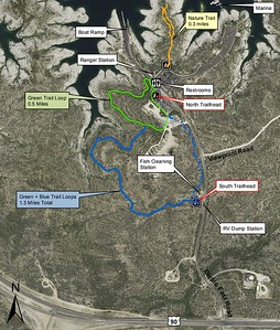 Amistad National Recreation Area (Diablo East Area Trails)