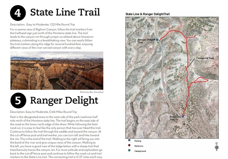 Bighorn Canyon National Recreation Area (State Line & Ranger Delight Trails)