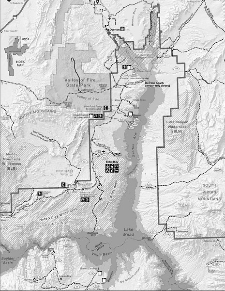Lake Mead National Recreation Area (Overton Arm Backcountry)