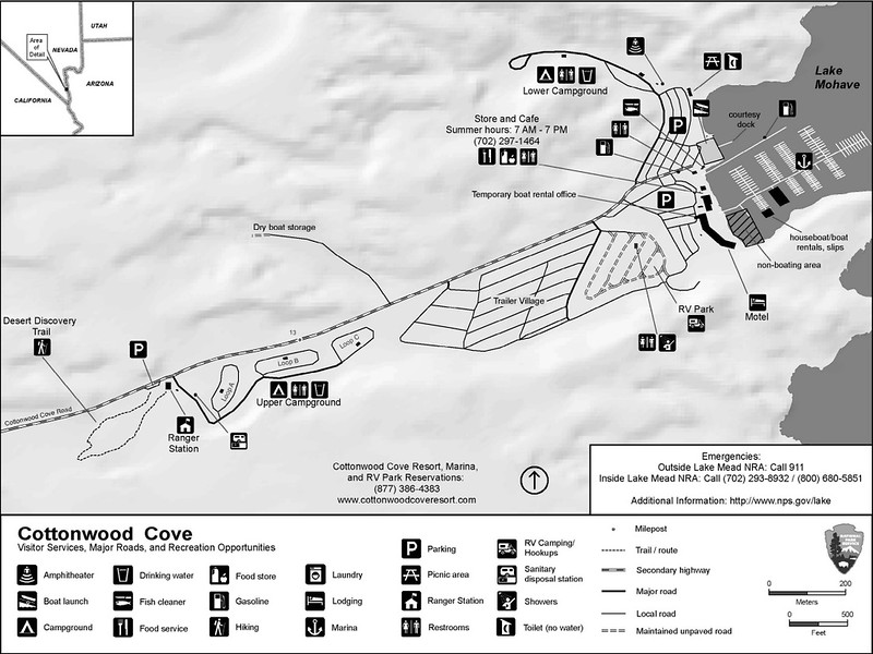 Lake Mead National Recreation Area (Cottonwood Cove Campground)