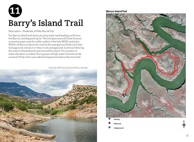 Bighorn Canyon National Recreation Area (Barry's Island Trail)