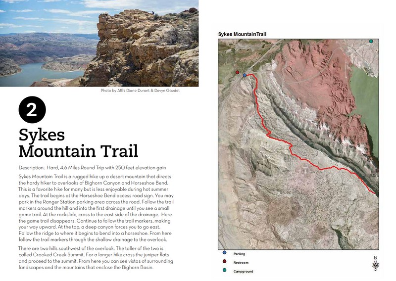 Bighorn Canyon National Recreation Area (Sykes Mountain Trail)