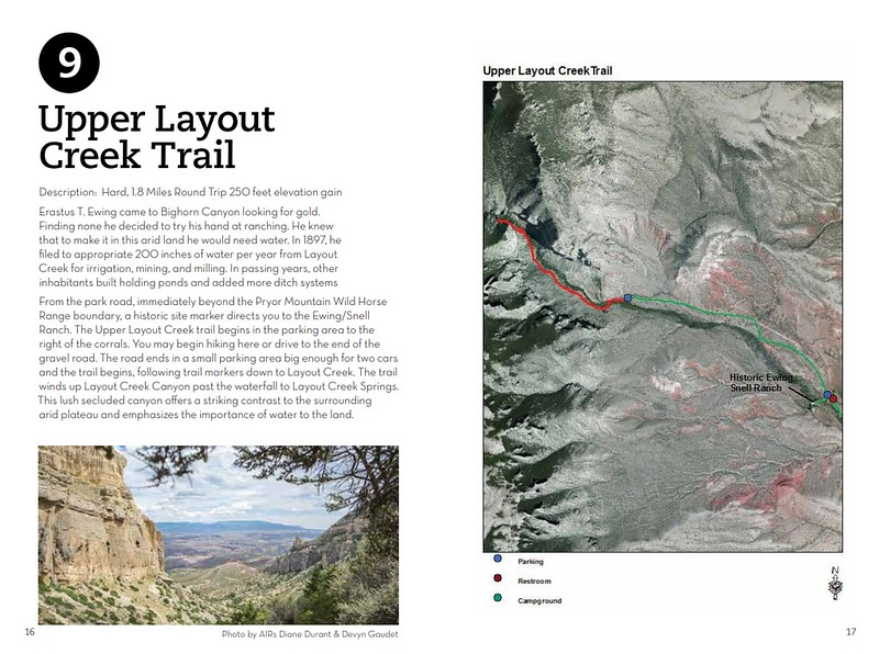 Bighorn Canyon National Recreation Area (Upper Layout Creek Trail)