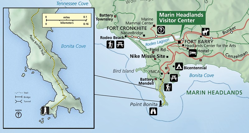 Golden Gate National Recreation Area (Point Bonita Trail)