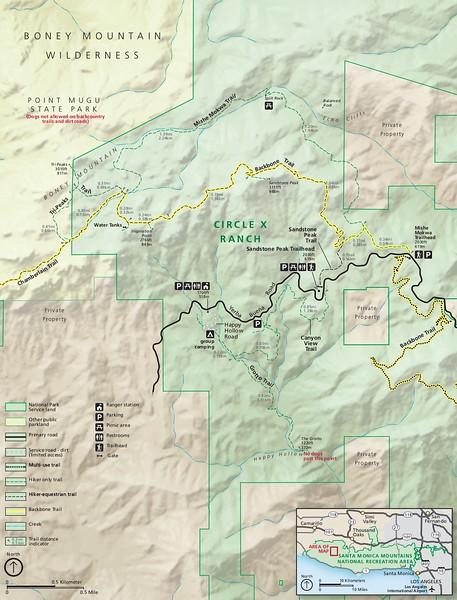 Santa Monica Mountains National Recreation Area (Circle X Ranch Area)