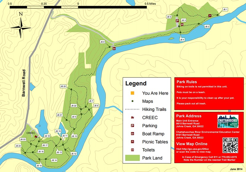 Chattahoochee River National Recreation Area (Jones Bridge Area Trails)