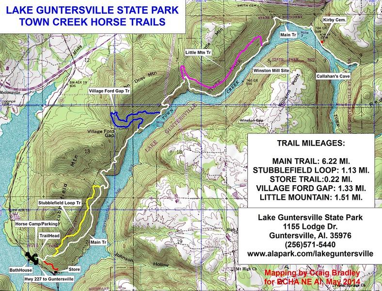 Lake Guntersville State Park (Equestrian Trails)