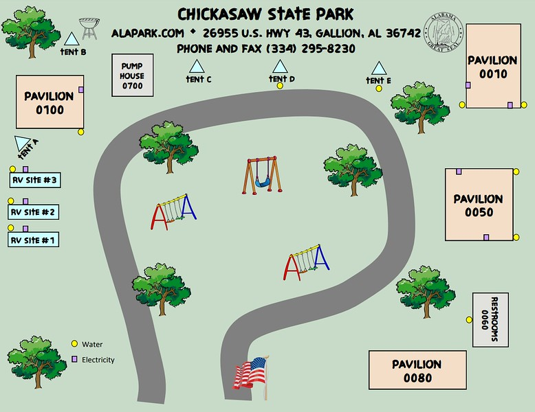 Chickasaw State Park (Campground)