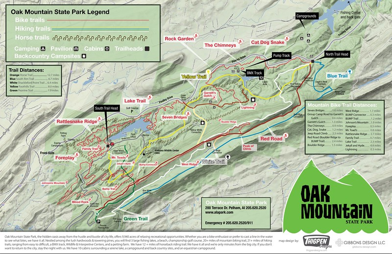 Oak Mountain State Park (Trails)