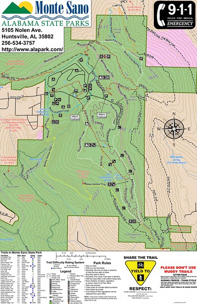 Monte Sano State Park (Trails)