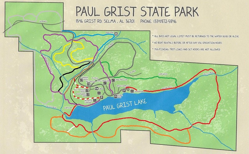 Paul M. Grist State Park (Trails)