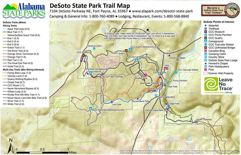 DeSoto State Park (Trails)