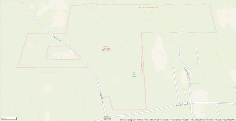 Bladon Springs State Park
