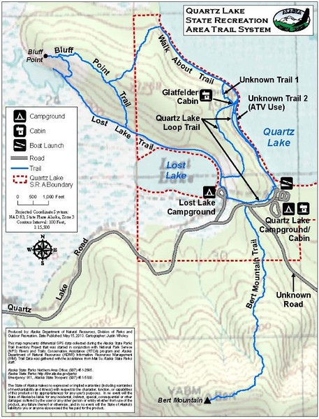 Quartz Lake State Recreation Area