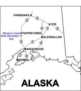 Montana Creek State Recreation Site