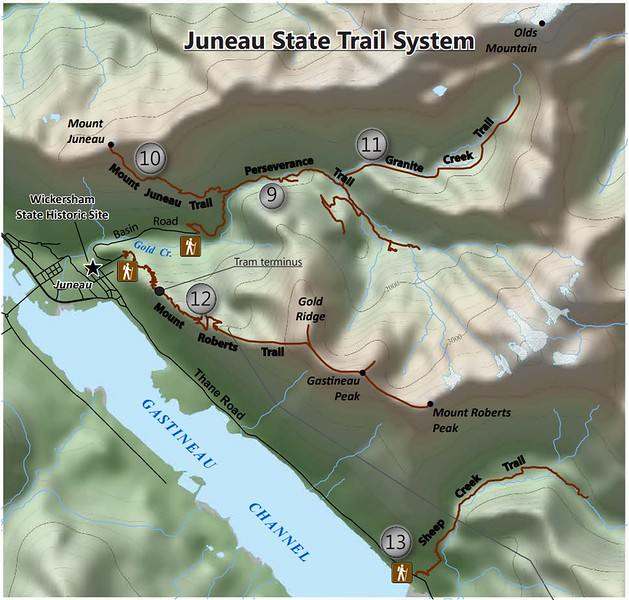 Juneau State Trail System