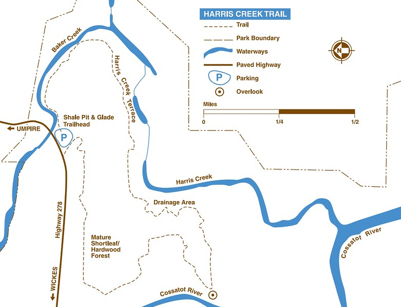 Cossatot River State Park & Natural Area (Harris Creek Trail)