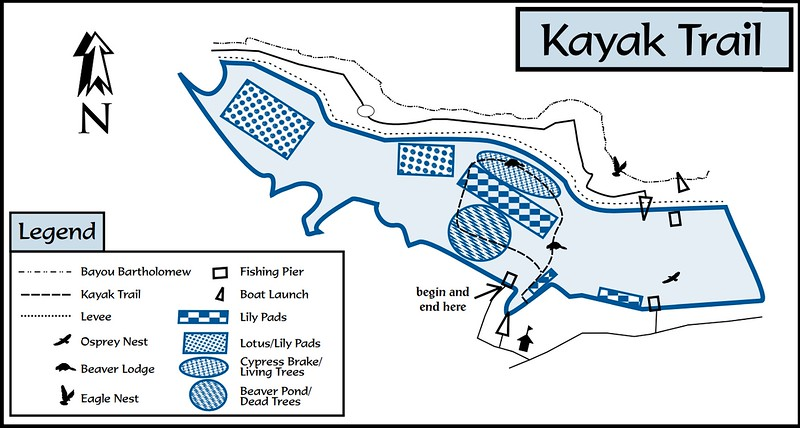 Cane Creek State Park (Kayak Trail)