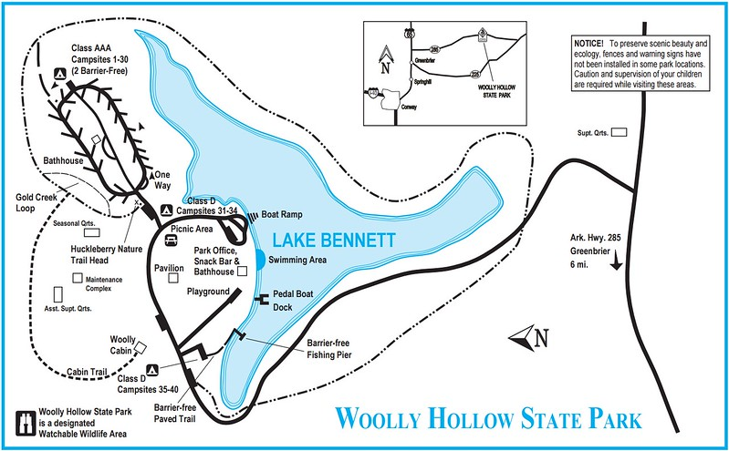 Woolly Hollow State Park