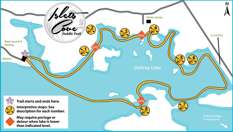 DeGray Lake Resort State Park (Paddle Trail)