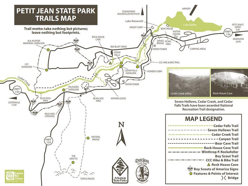 Petit Jean State Park (Trails)