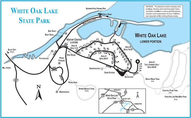 White Oak Lake State Park