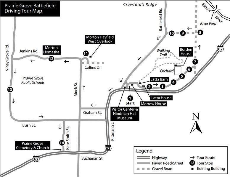 Prairie Grove Battlefield State Park (Driving Tour)