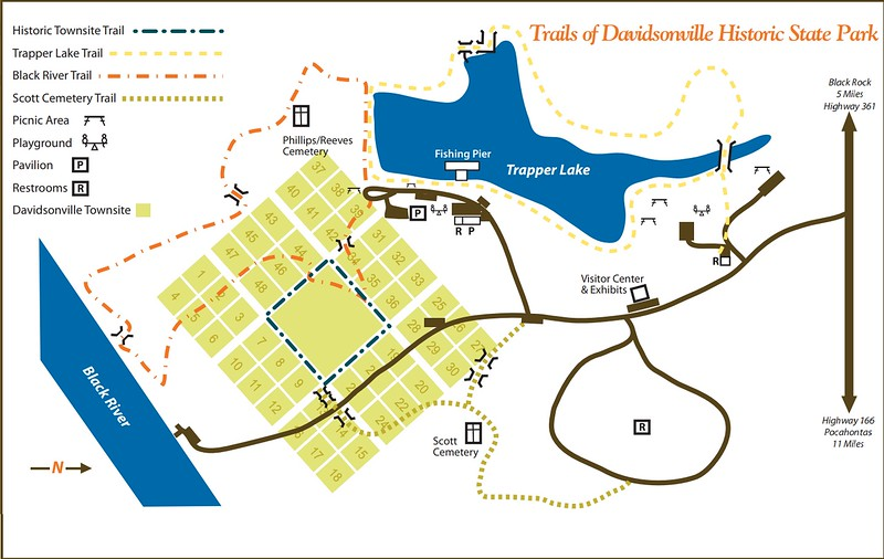 Davidsonville Historic State Park (Trails)