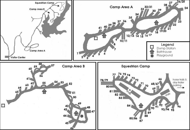 Village Creek State Park (Campground Maps)