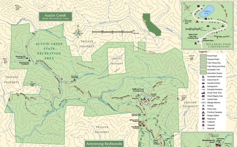 Austin Creek State Recreation Area