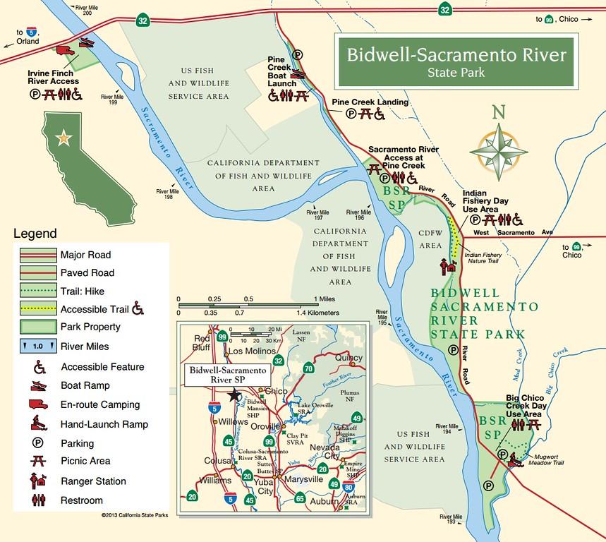 Bidwell-Sacramento State Park