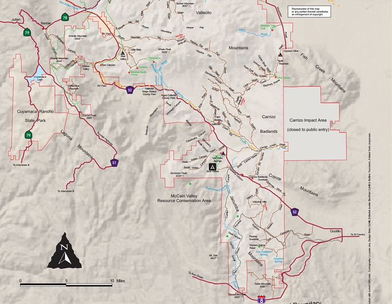 Anza-Borrego Desert State Park -- South