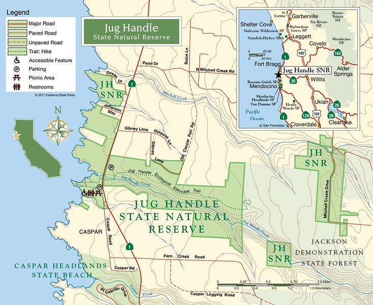 California State Park Maps - dwhike on
