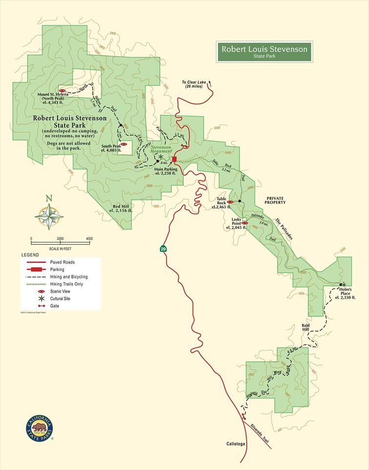 Robert Louis Stevenson State Park