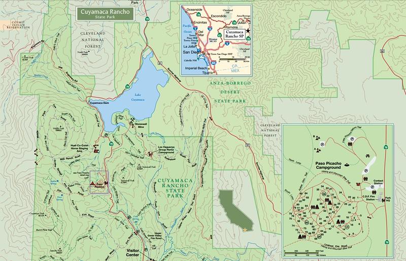 Cuyamaca Rancho State Park (north)